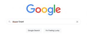 Google jezelf