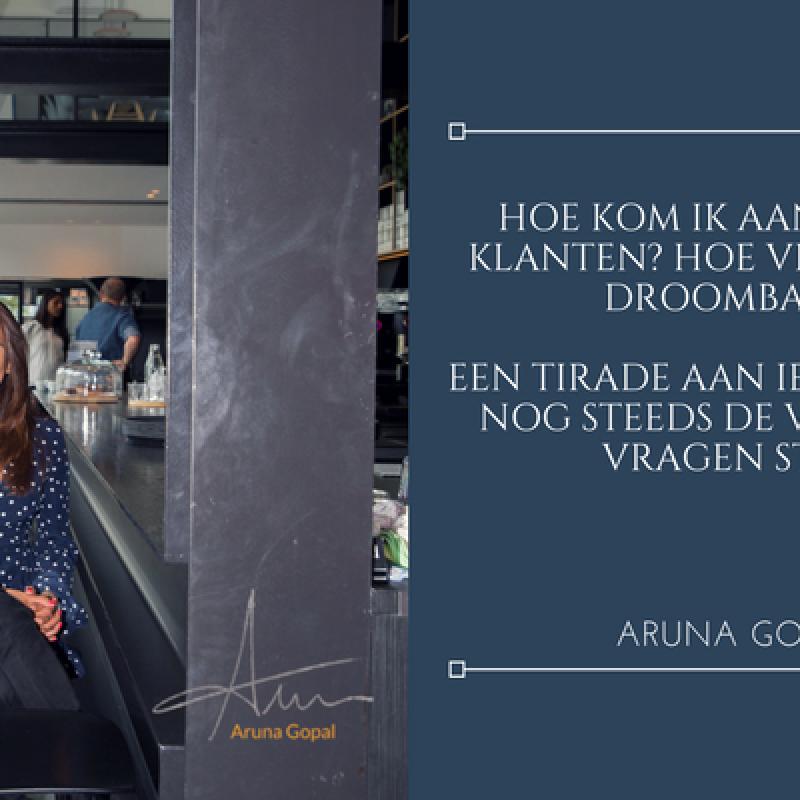 Aruna Gopal - Een tirade aan iedereen die nog steeds de verkeerde vragen stelt